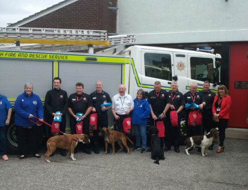 Boxer Welfare Scotland help to equip 12 fire stations in Aberdeenshire & Moray area!